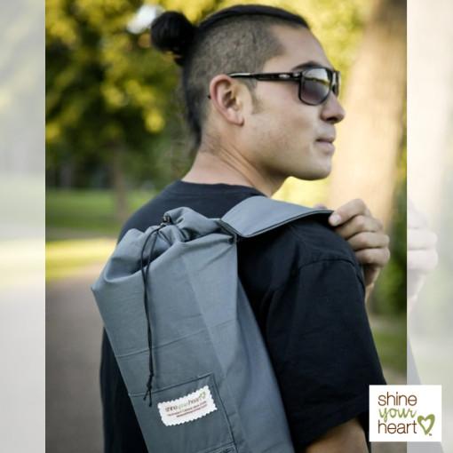 Shine Your Heart Archer Yoga Mat Bag