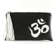 AUM Vegan Leather Essentials Clutch