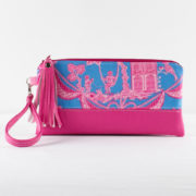 shine your heart antoinette wristlet