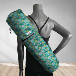 yoga bag blooming garden