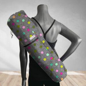 Dizzy Pinwheels Yoga Bag 201816A