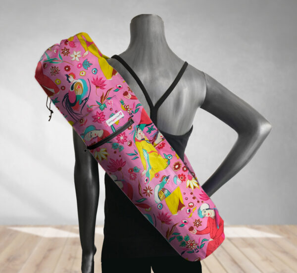 Fortune Teller Pink Yoga Bag