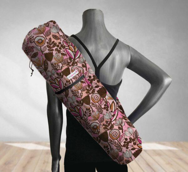 yoga bag pretty in pink