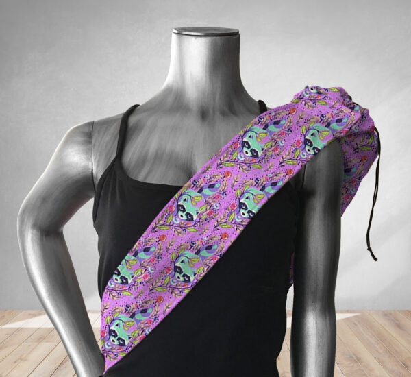 Hey Ranger Purple Yoga Bag 201901A