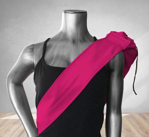 Hot Pink Yoga Bag 201910A
