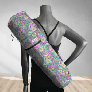 Purple Petal Head Yoga Bag 201907A