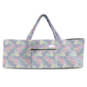 Purple Petal Head Shoulder Yoga Bag 201907OTS