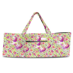 Magical Poppies Pink Shoulder Yoga Bag 201904OTS