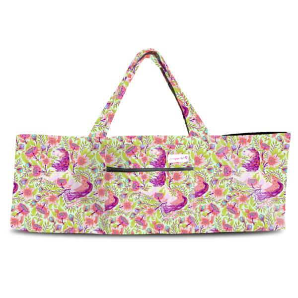 Magical Poppies Pink Shoulder Yoga Bag 201904OTS