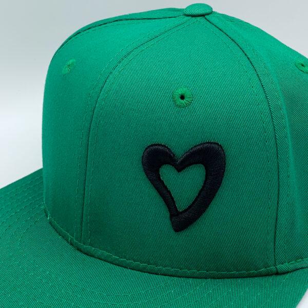 Energize Snapback - Green & Black