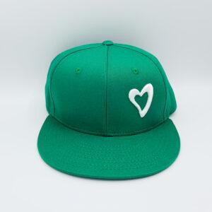 Energize Snapback - Green & White