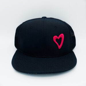 Energize Trucker Hat - Black & Pink