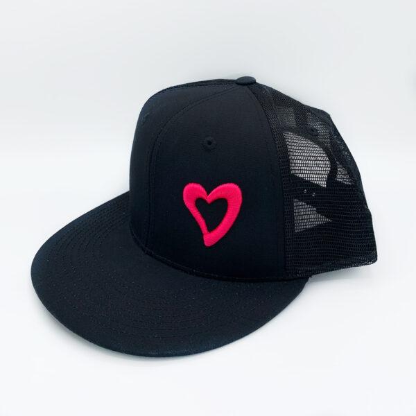 Energize Trucker Hat - Black & Pink
