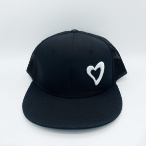 Energize Trucker Hat - Black & White