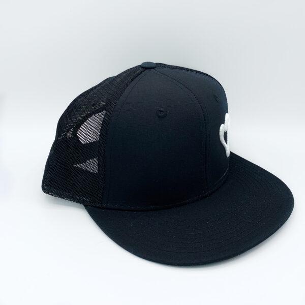 Energize Trucker Hat - Black & White