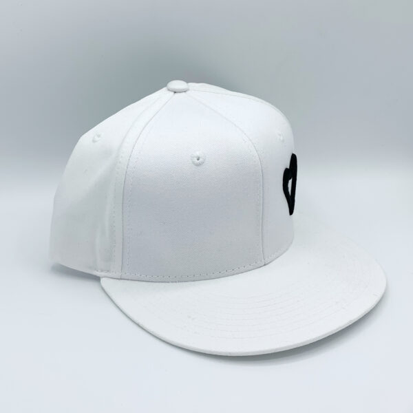 Energize The World Snapback - White & Black