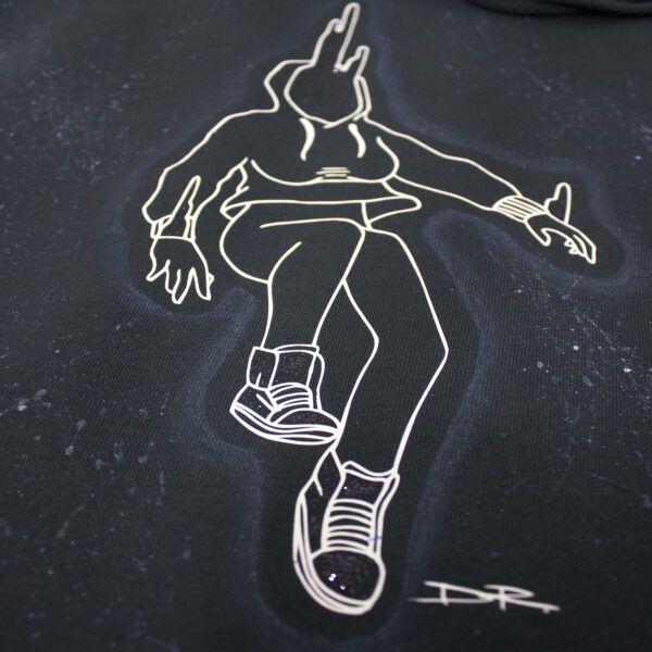 TRANSCEND & SHINE   Spacewalk Men's Hoodie